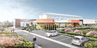Fondations et gros-oeuvre : premières phases en cours de l'extension des urgences de l'hôpital de Brignolles
