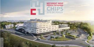 CHIPS : Première pierre de l'extension du site hospitalier de Poissy