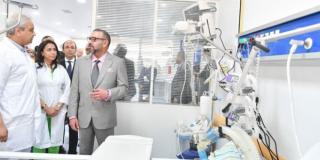 Inauguration de l'hôpital « Prince Moulay Abdallah » à Salé