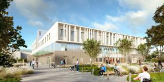 Le CHU de Nantes présente le futur bâtiment du pôle médecine physique et réadaptation
