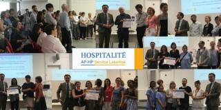 """200 services de l'AP-HP arborent le label """"Hospitalité"""", une démarche innovante"""
