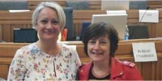 Magali Delhoste succède à Brigitte Ludwig à la tête de L'Union Nationale des Associations d'IBODE