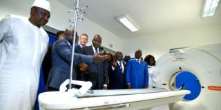 Inauguration de l'Hôpital Général d'Abobo-Nord, après une opération de réhabillitation