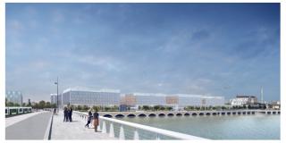 Futur CHU sur l'île de Nantes : Permis de construire délivré !