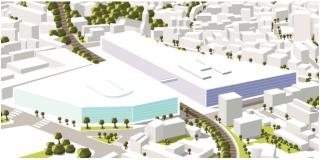 Quatre groupements d'architectes issus du 1er concours pour l'hôpital du Campus hospitalo-universitaire Grand Paris-Nord