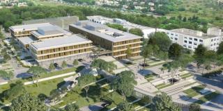Le futur bâtiment SSR-SMIT-Gériatrie du CHU de Nîmes confié au groupement Sogea / Chabanne architectes