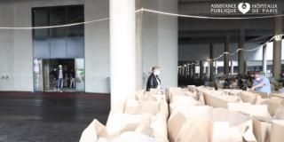 Ouverture anticipée du nouveau bâtiment RBi à l'hôpital Mondor dans une configuration adaptée à la crise Covid