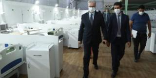 Coronavirus à Marrakech : l'hôpital de campagne est fonctionnel