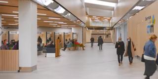 Le nouveau bâtiment Plantagenêt de l'hôpital du Mans a ouvert ses portes