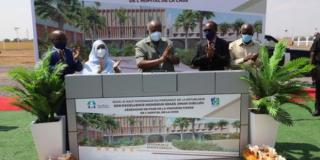 Pose de la première pierre du futur Hôpital Général de la CNSS de Djibouti