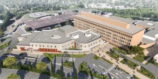 Le projet d'extension et de modernisation du Nouvel Hôpital de Grasse est enfin lancé !