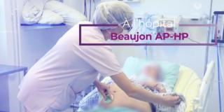 Unité de néonatologie,  aménagement d'une salle physiologique, l'hôpital Beaujon (AP-HP) se renouvelle