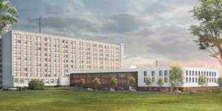 Extension, restructuration, le Centre hospitalier d'Agen a lancé son opération de modernisation