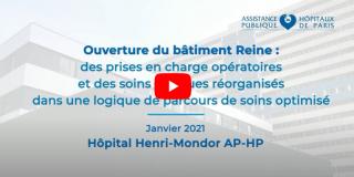AP-HP - Ouverture du bâtiment Reine : Des prises en charge opératoires et de soins critiques réorganisés