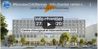 CHU Rennes :Travaux et opérations en cours
