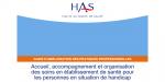 Mieux organiser les soins des personnes handicapées dans les hôpitaux  : la HAS publie un guide