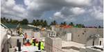 Futur CHU de Guadeloupe : visite d'un chantier en bonne voie