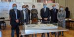 L'opération reconfiguration et modernisation du futur hôpital GHEF-site de Meaux a été exposée à la presse