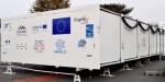 A peine présenté, l'hôpital mobile de Toulouse est déployé au Centre hospitalier de Bayonne