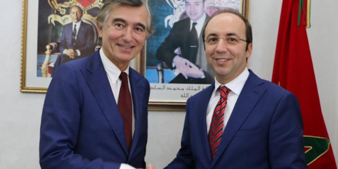 Financements innovants : le ministre de la santé rencontre le représentant de l'ONU