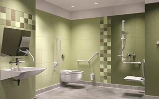 Salle de bains maison de retraite