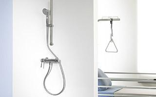 MASTERMIX, équiper les douches des hôpitaux en toute sécurité