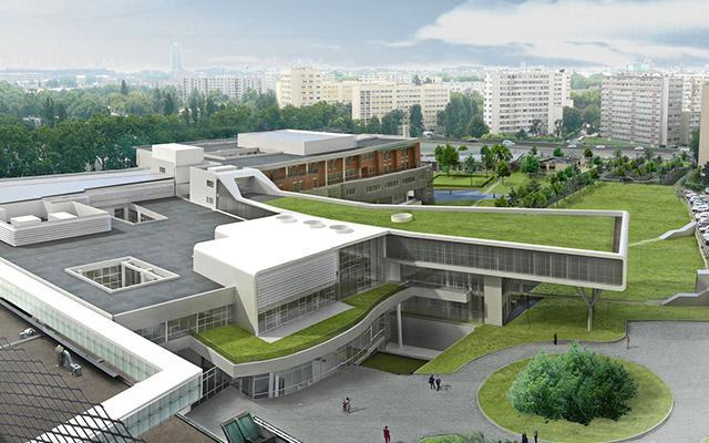 Hôpital Delafontaine - Saint-Denis