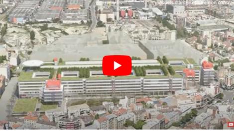 Campus hospitalo-universitaire Grand Paris-Nord : projet du groupement Renzo Piano Building Workshop
