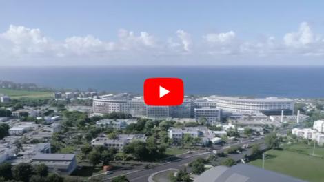 Le CHU Sud Réunion présente son nouveau visage