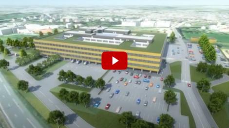 Il s'est achevé ce mois de juillet : le nouveau Centre Hospitalier de Maubeuge, élevé sous BIM